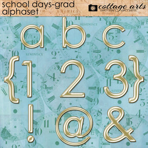 School Days - Grad Alphaset