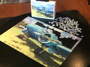 Twin Beech Puzzle 1000 pieces
