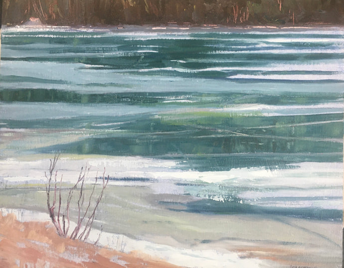 Spring Thaw, 8 x 10