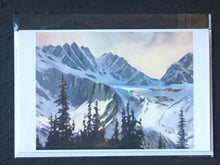 "Load image into Gallery viewer, Morning Light, Banff, Ab. 18 x 24"" Oil"