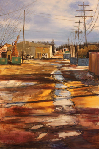 Back Alley Hues, 36 x 24