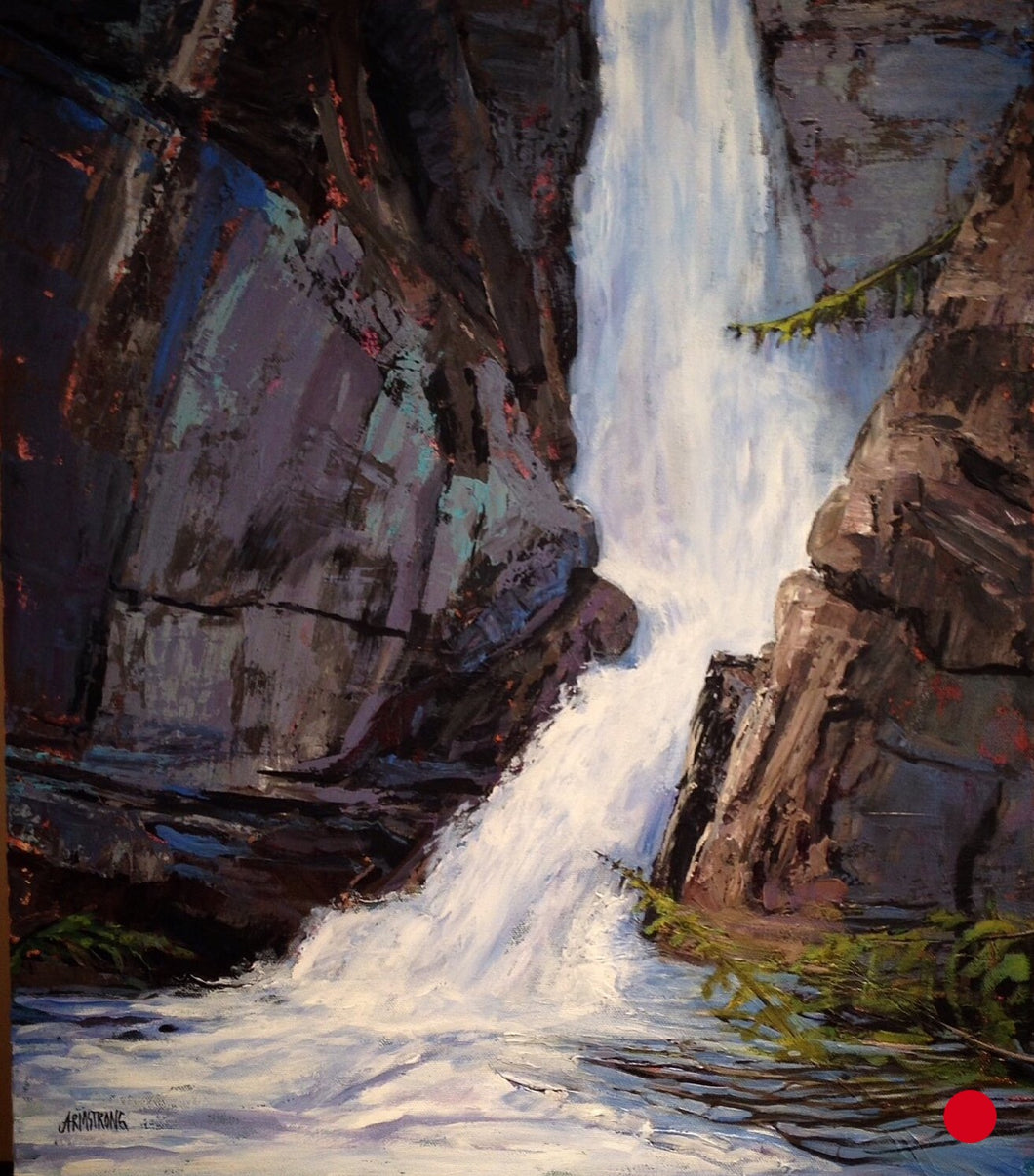 SOLD .... Johnson's Canyon, 24 x 20