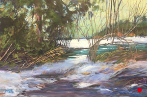 "Jasper Banks, 20 x 30"" Acrylic on canvas   SOLD"