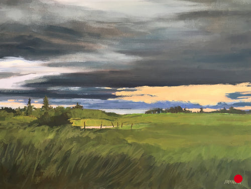 Prairie Sweep II, 12 x 16