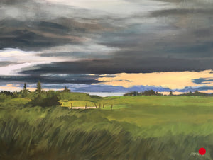 "Prairie Sweep II, 12 x 16"" Oil"