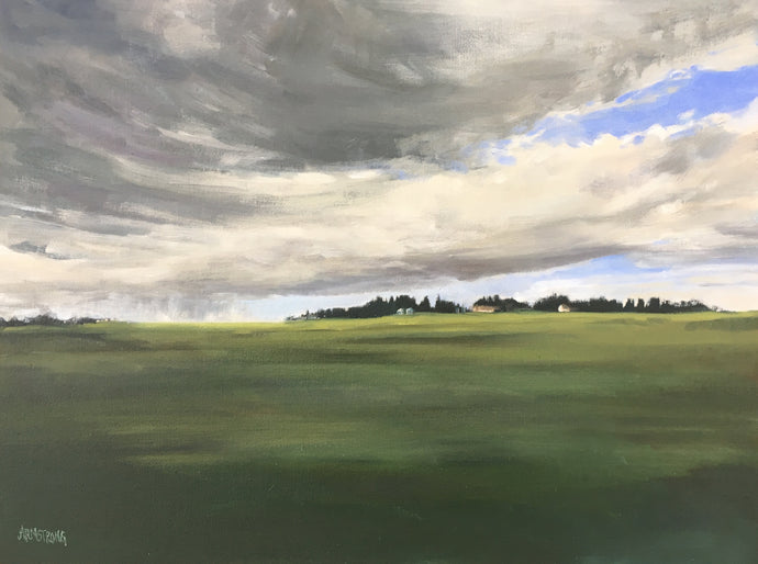 Prairie Sweep I, 12 x 16