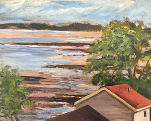"St. Andrews by the Sea #4, 8 x 10"" Oil"