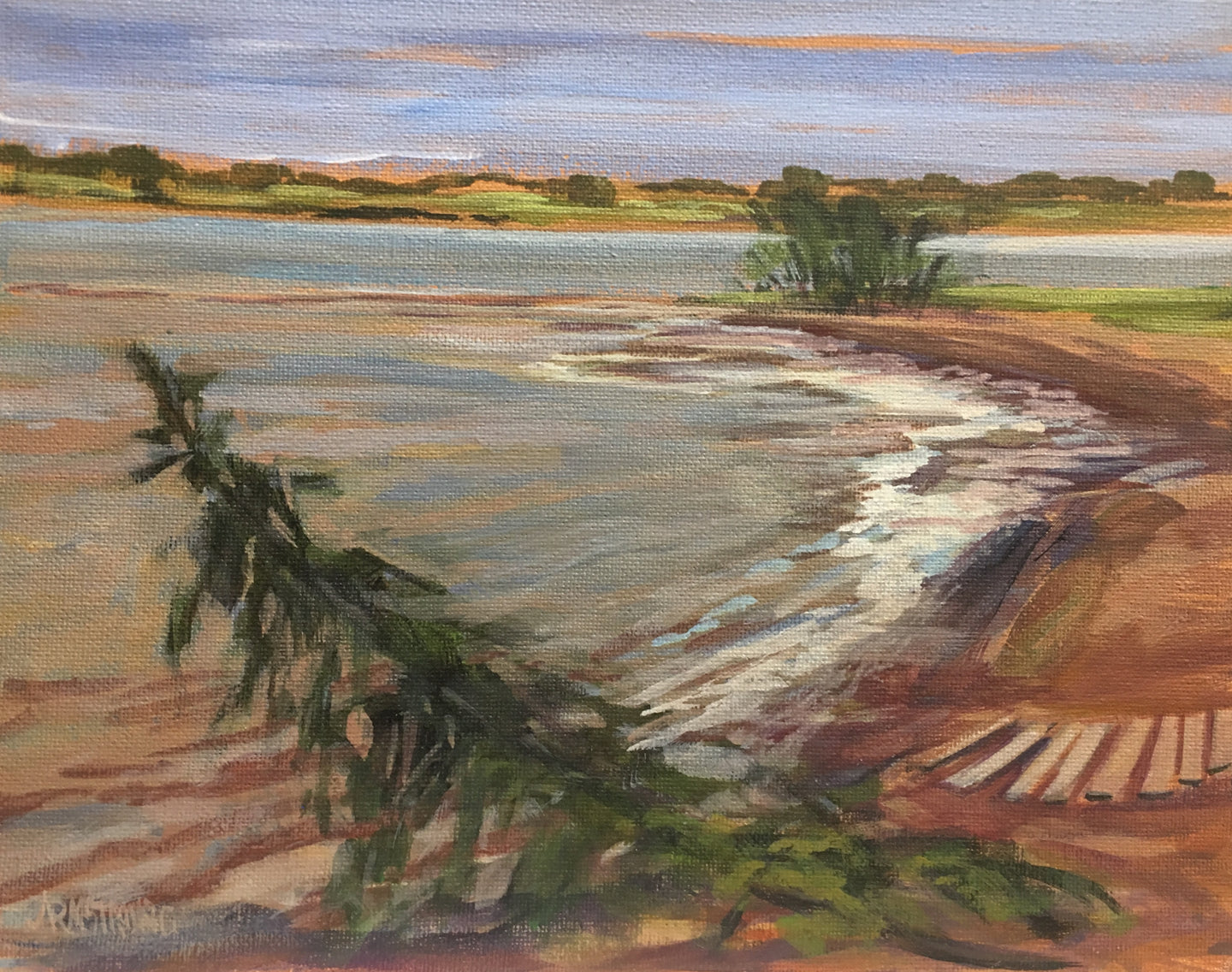 Tide Coming In, PEI, 8 x 10