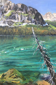 "Boom Lake, 36 x 24"" SOLD by Lineham House Gallery"
