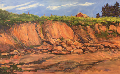 Victoria by the Sea, PEI , 30 x 48""