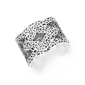 Decorative Granulated and Cutout Large Cuff