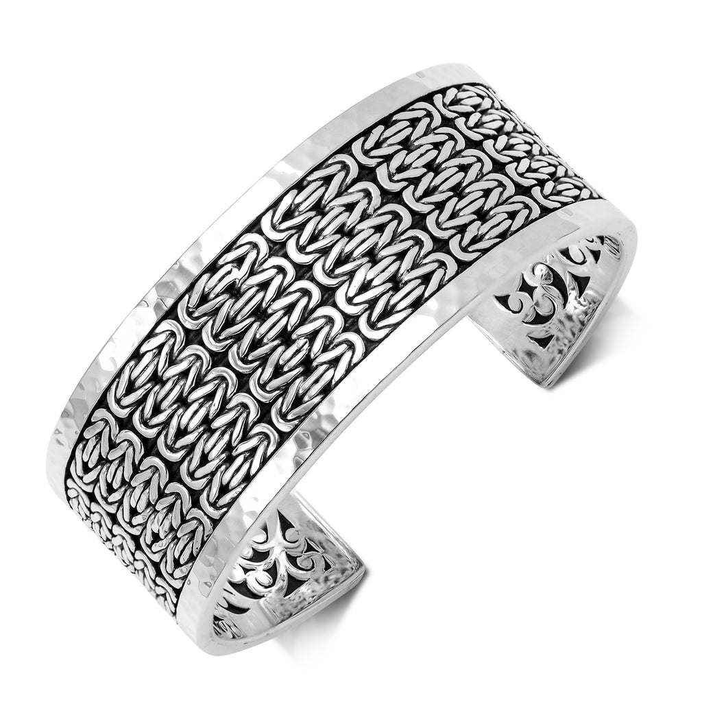 Medium Box Weave Hammer Cuff