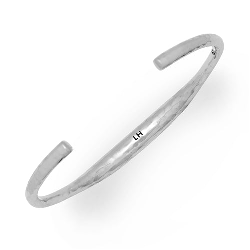 Slim Signature Scroll ID Cuff