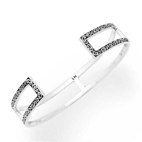 Classic Signature Cutout Open Bar Cuff