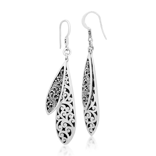 Classic Medium Round Repousse Earrings