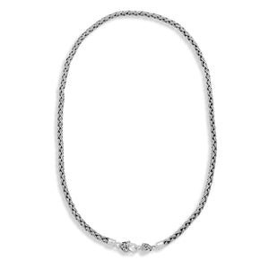 Lois by Lois Hill 2nd Century Hand Woven Chain with Heart Shaped Closure - Lois Hill Jewelry