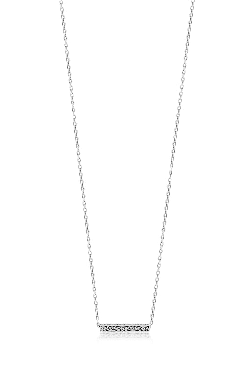 Small Cutout Bar Necklace