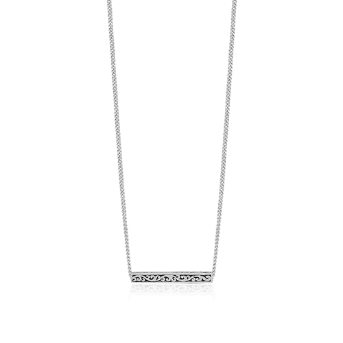 Cutout Bar Necklace - Lois Hill Jewelry