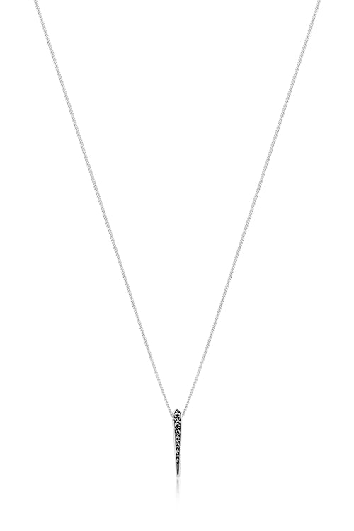 Edgy & Classic Small Pyramid Pendant - Lois Hill Jewelry