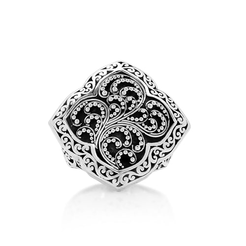 Diamond Shaped Classic Ring - Lois Hill Jewelry