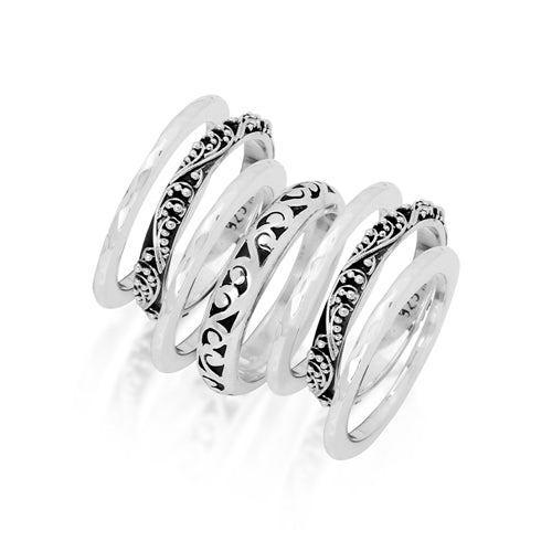 Classic 7 Stack Ring Set