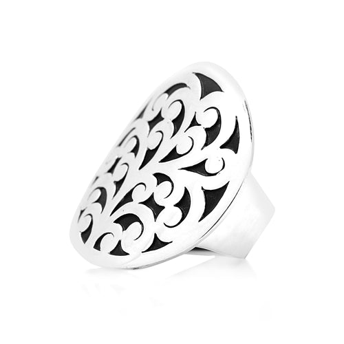 Classic Round Cutout Ring - Lois Hill Jewelry