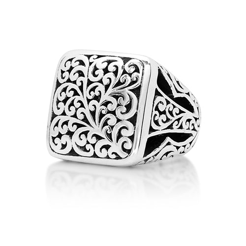 Cutout Square Classic Ring - Lois Hill Jewelry
