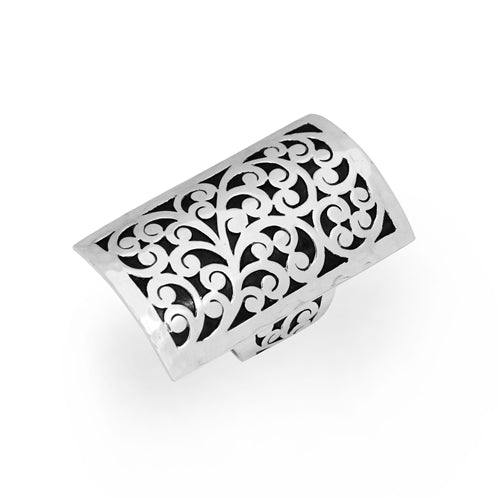Large Signature Cutout Ring - Lois Hill Jewelry