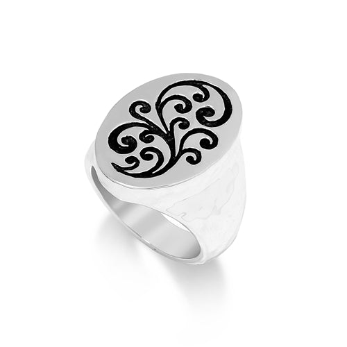 Oval Signet Ring - Lois Hill Jewelry