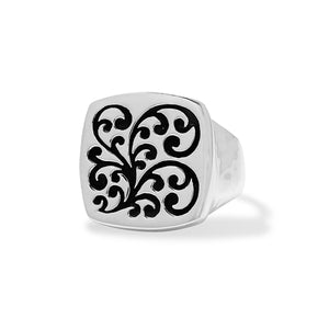 Square Signet Ring - Lois Hill Jewelry