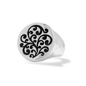 Round Signet Ring - Lois Hill Jewelry