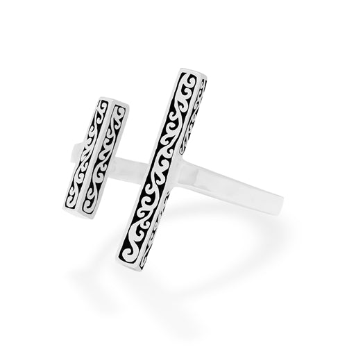 Double Bar Cutout Ring