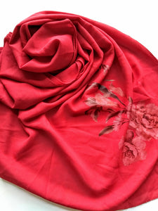 Red paint hijab