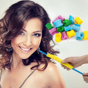 Set for hair curler