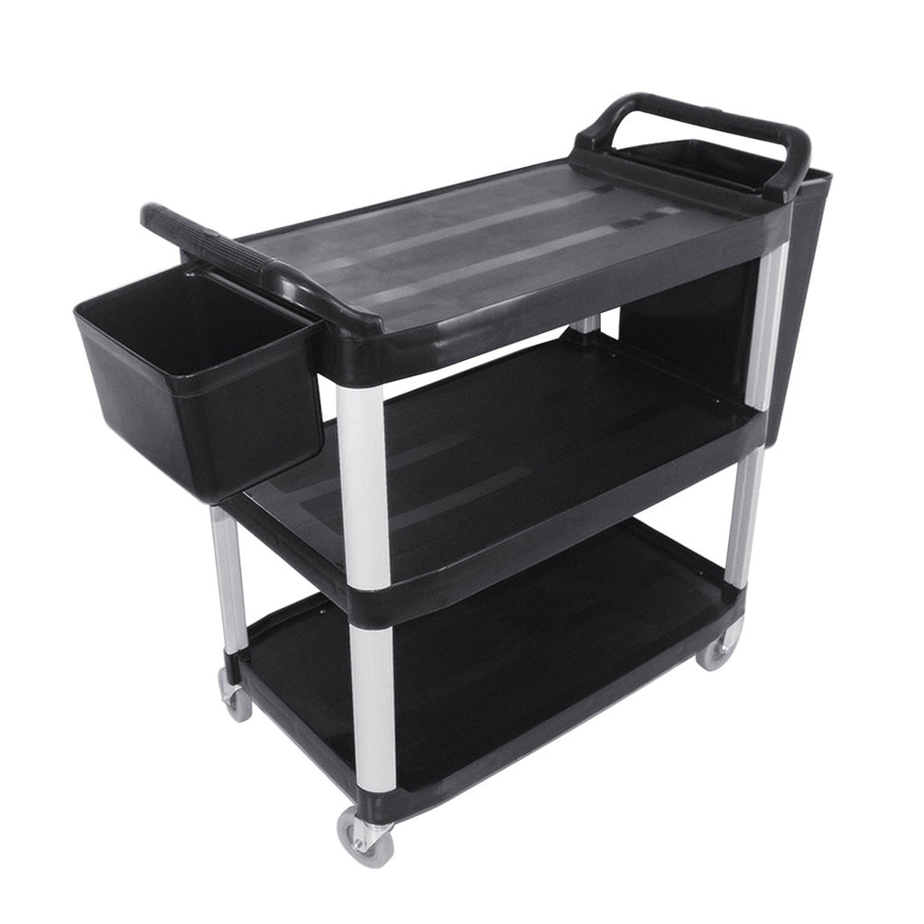 Utility Cart W/ Two Bins Small - 3 Tier - Notbrand