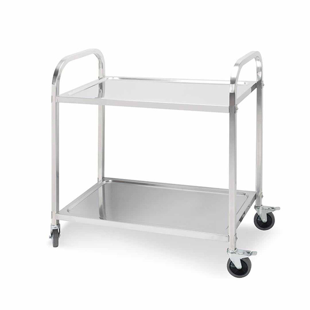Stainless Steel Utility Cart - 2 Tier - Notbrand