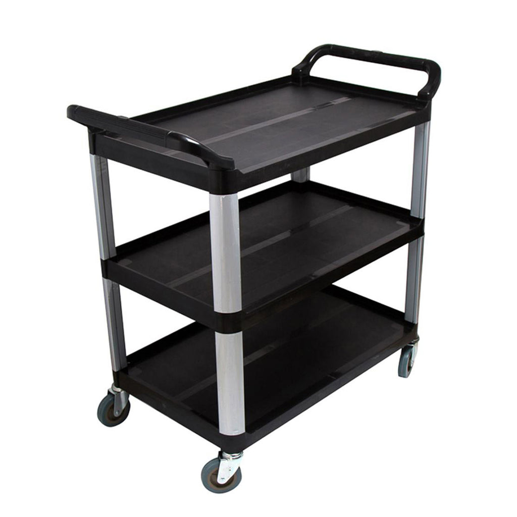 Utility Cart Black  Small - 3 Tier - Notbrand