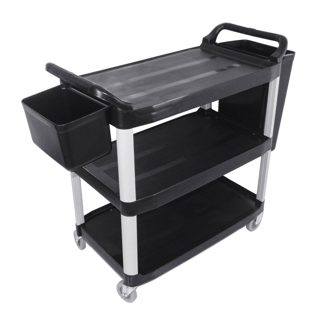 Utility Cart W/ Two Bins Large - 3 Tier - Notbrand