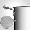 Stainless Steel Soup Pot With Glass Lid - 22cm - Notbrand