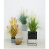 Artificial Indoor Potted Reed Bulrush Grass - 137cm - Notbrand