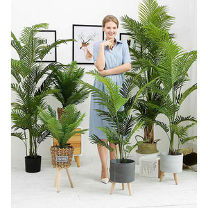 Artificial Indoor Swallowtail Sunflower Tree - 145cm - Notbrand