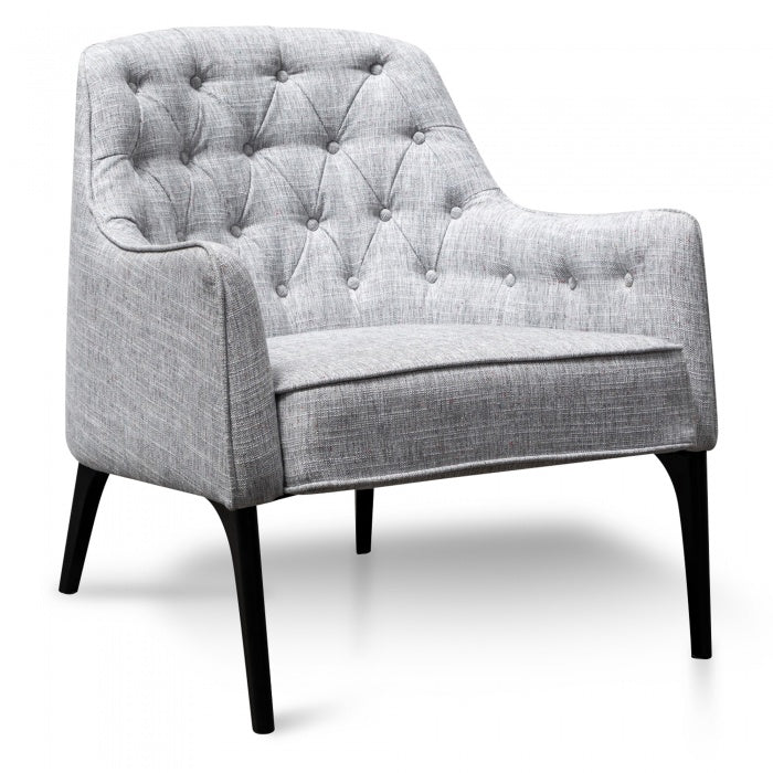 Rylee Armchair - Light Space Grey - Notbrand