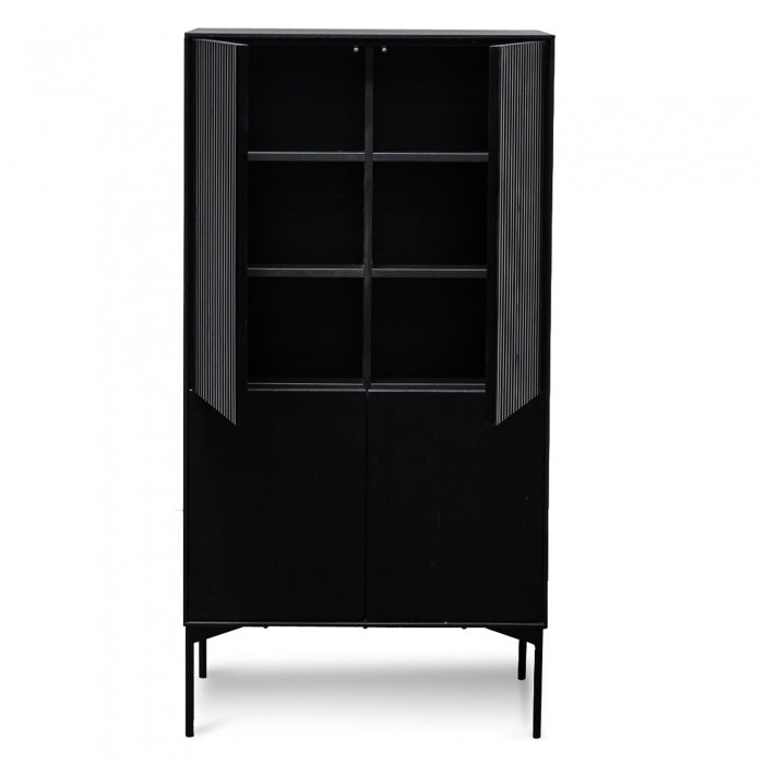 Diego 4 door Cabinet - Black Oak - Notbrand