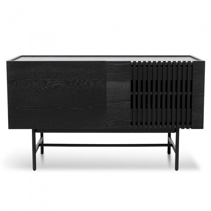 Turin 2 Door Buffet Unit - Black - Notbrand