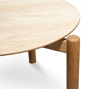 Hollis Nest of Coffee tables - Natural - Notbrand