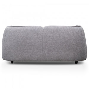 Zora 2 Seater Fabric Sofa- Oslo Grey - Notbrand