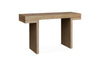 Ireal Dusty Oak Console Table - 1.3m - Notbrand