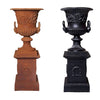 Dorchester Cast Iron Urn & Padestal Set Medium - Notbrand