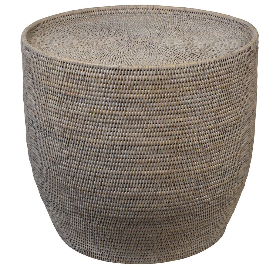 Verandah Rattan Side Table - Notbrand