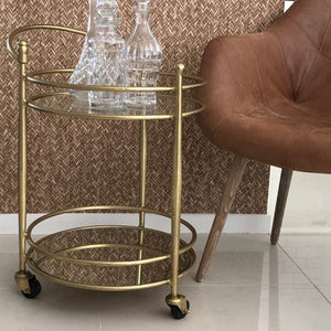 Athena Classic Bar Cart Trolley - Notbrand